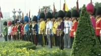 Thailand soldiers in uniform
