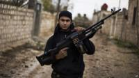 Free Syrian Army fighter