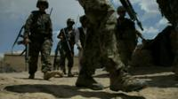 Foreign troops in Afghanistan