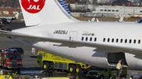 Japan Airlines Boeing 787 Dreamliner