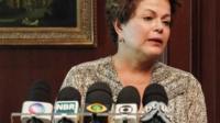 "Brazil""s President Dilma Rousseff"