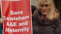 A Lewisham Hospital campaigner
