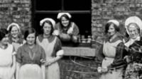 Women at a Magdalene laundry