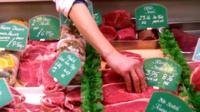 Meat on sale