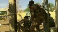 Malian troops in Gao