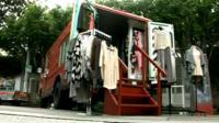 Fashion truck in LA