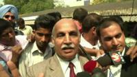 V.K. Anand, defence lawyer for Ram Singh