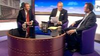 Gus O'Donnell, Andrew Neil and Nick Herbert