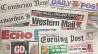 Newspapers sales are falling as readers opt to go online