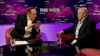 Andrew Neil and Brian Moore