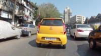 Driving in Mumbai