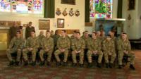 Soldiers who are due to receive honours