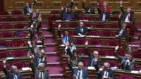 France's upper house of parliament