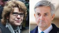 Vicky Pryce and Chris Huhne