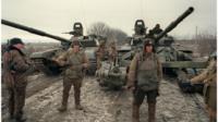 Russian troops in Chechnya, 1994