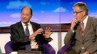 Shailesh Vara and Nigel White