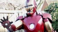 Archie in his Iron Man costume