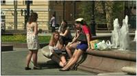 Heat-wave in Moscow
