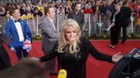 Bonnie Tyler at Malmo's Opera Hall in Sweden, venue for the 2013 Eurovision Song Contest