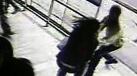 CCTV of man grabbing a woman's phone