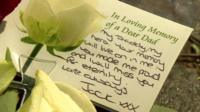 Card paying tribute to Drummer Lee Rigby