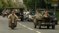 WWII vehicles in Tavistock