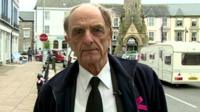 Machynlleth Councillor Michael Williams