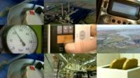 Different forms of energy usage