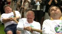 House of Lords tug of war team