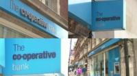 Co-operative bank signs