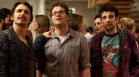 James Franco, Seth Rogen, Jay Baruchel in This is the End
