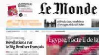 cover of Le Monde