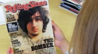 An early copy of Rolling Stone magazine's August 2013 issue