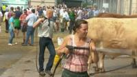 Farmers at the Royal Welsh Show