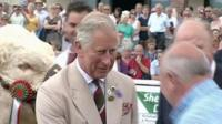 Prince Charles at the Royal Welsh Show