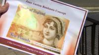 Mock up of the new £10 note