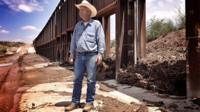 Rancher Ladd at the border