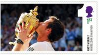 Andy Murray stamp