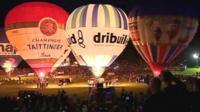 Bristol 2013 balloon fiesta night glow