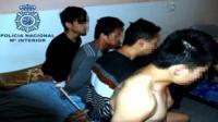 Suspected trafficking gang