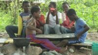 Liberian refugees in Nigeria