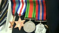 Fred Mullis' 1939-45 Star, France and Germany Star, Defence Medal and War Medal 1939-45