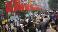 Street scene in Shanghai