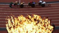 Men's 5000m - T54 Round 1 at the Olympic Stadium, London