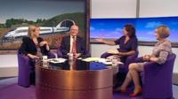 Cheryl Gillan, Sir Menzies Campbell, Jo Coburn and Tessa Jowell