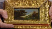 Small painting by John Constable