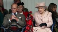 The Duke of Edinburgh and the Queen