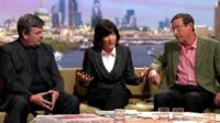 David Aaronovitch, Christiane Amanpour, Sir Max Hastings