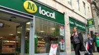 Morrisons local store in London