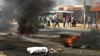 Fuel price protests in Kadro